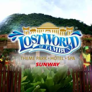 AMI Travel | Lost World of Tambun Theme Park, Perak