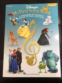 🚚 Disney's My First Song Book, Easy Piano Vol 5 (Hal Leonard)