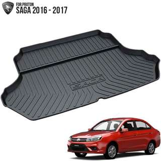 Rear Boot Tray for Proton Saga VVT 2016 to 2018