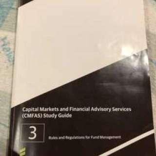 CMFAS Module 3