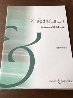 🚚 Aran Khachaturian Pictures of Childhood