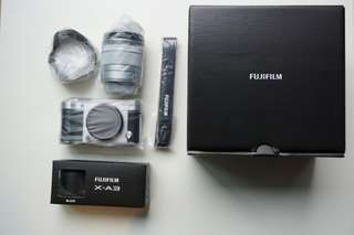 Fujifilm X-A3 (16-50mm kit lens)