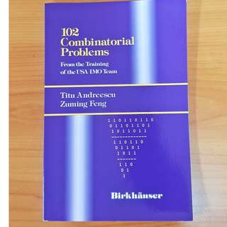 Brand New 102 Combinatorial Problems From the Training of the USA IMO Team
