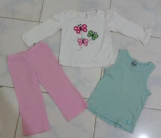 Set for 2-4yrs old