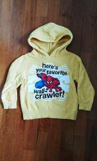 FOX KIDS - Spiderman Sweater (size 4)