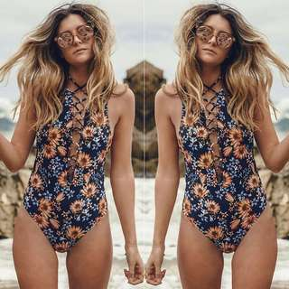 BRAND NEW!!! One Piece Floral Swimwear