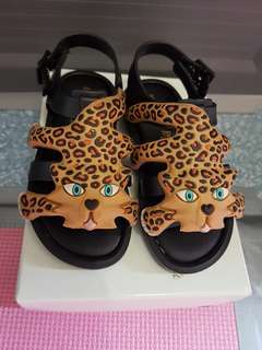 Mini melissa flox+jeremy scott black