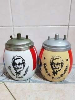 KFC coin bank & radio