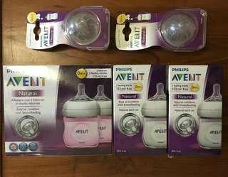 Avent Natural Bottles & teats