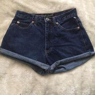 Guess high waist shorts