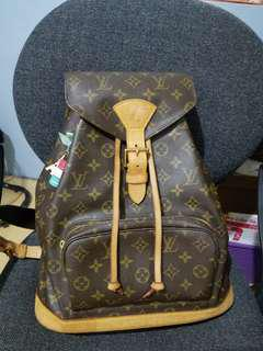 Authentic Louis Vuitton Montsouris GM