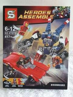 Lego Superheroes / Lego Superhero / Lego Iron Man / Lego Captain America / Lego China / Lego Avenger