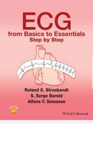 ECG from Basics to Essentials Step by Step – 1st edition PDF Copy