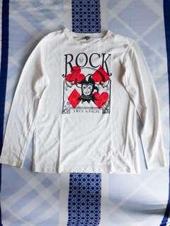 """Zara """"ROCK"""" Shirt"""
