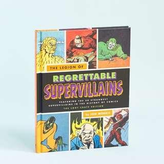 Legion of Regrettable Supervillains Book