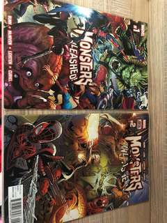 Monsters unleashed 2017 issue 1&2
