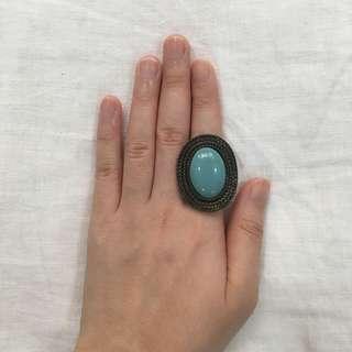 Turquiose cocktail ring