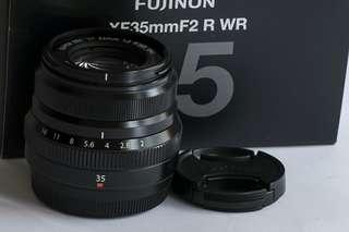 Fujifilm XF35mm F2 lens