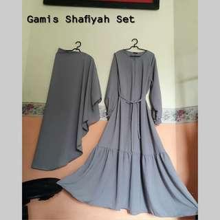 Gamis Shafiyah Set Rempel