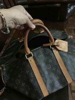 LV soft leather bag