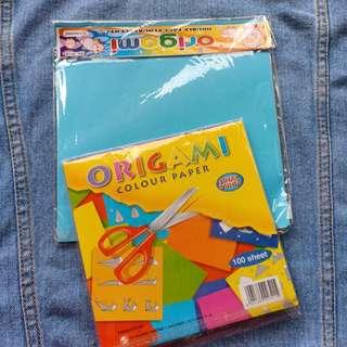 Origami Besar dan Kecil 100 sheets