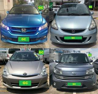 Honda Freed RENTING OUT CHEAPEST RENT FOR Grab/Ryde/Personal