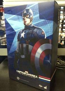 hottoys 限定版 captain America golden age 美國隊長