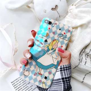 iPhone Case 愛麗絲夢遊仙境 包順豐 軟殻