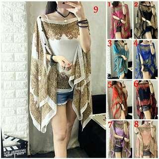baju shawl batik