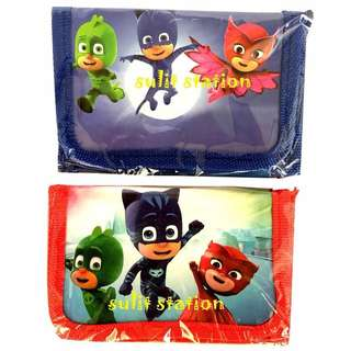 PJ MASKS TRIFOLD WALLET PARTY GIVEAWAYS SOUVENIR