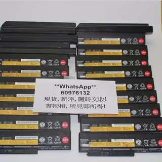 Lenovo ThinkPad X220 X230 X201 T410 T420 T430 W510 W520 W530 原裝電池, 現貨供應