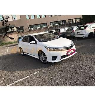 14年ALTIS 改Z包 白   FB搜尋『說書人車庫』專營熱門車改裝車二手車中古車