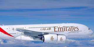 Emirates Economy Class for One from Singapore to Milan