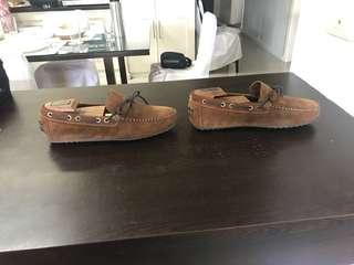 Mango Driving Shoes size 9 U.S. men's
