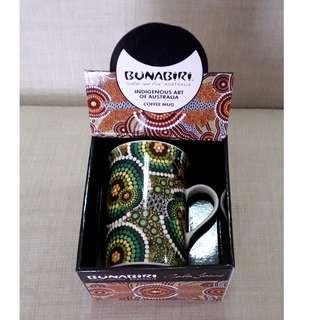 Bunabiri Indigenous Art of Australia Limited Edition Coffee Mug