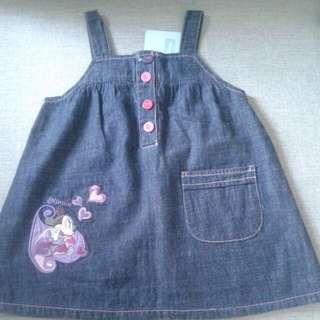 NEW Disney Baby Minnie Denim Dress