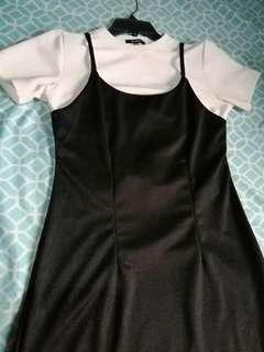 2in1 long dress