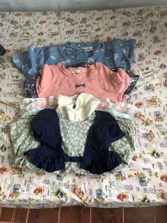 Sets dress/3to4yrs old