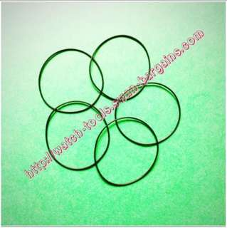 Watch Repair Tool - O Ring Case Back Rubber Seal Replacement Round Gasket (28 30 32 34 36 38mm) For Dust Water Proofing