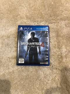 Authentic PS4 uncharted 4