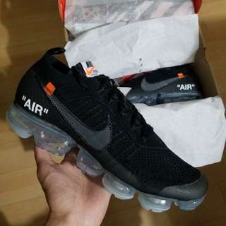 🚚 Off White Vapormax 2.0 us11