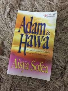 "Novel melayu ""Adam dan Hawa"""