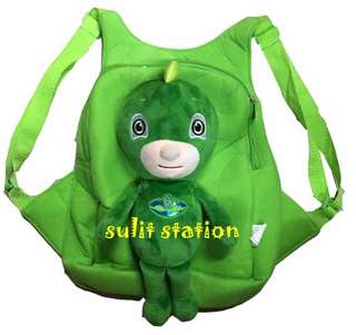 PJ MASKS GEKKO PLUSH GECKO KIDS BACKPACK BAG