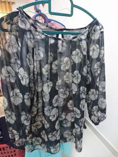 Dorothy Perkins flowery Top