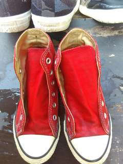 ORIGINAL RED CONVERSE HIGH