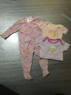 Combo baby girl 6-12m