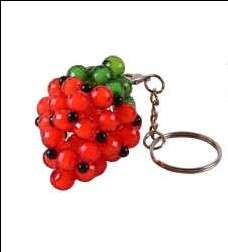 Learning Lesson Strawberry Keychain