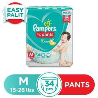 Pampers Dry Pants Medium 34s