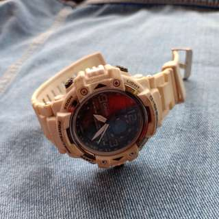 Jam Tangan Casio G-Shock Putih Original Preloved (Watch)