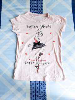 Pink Ballet Tee